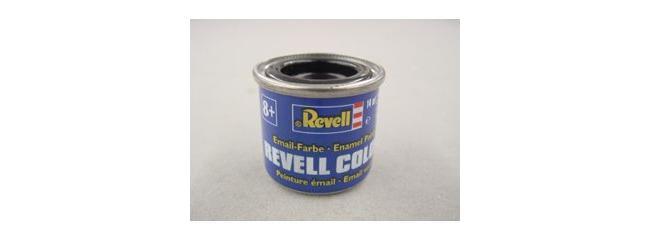 Revell 32107 Streichfarbe schwarz glänzend # 7 Farbdose 14 ml