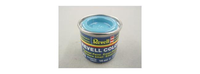 Revell 32150 Streichfarbe hellblau glänzend # 50 Farbdose 14 ml