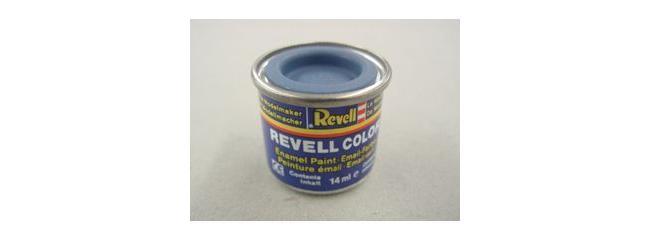 Revell 32156 Streichfarbe blau matt # 56 Farbdose 14 ml