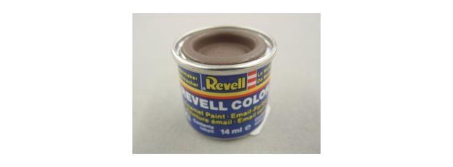 Revell 32184 Streichfarbe lederbraun matt # 84 Farbdose 14 ml