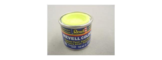 Revell 32312 Streichfarbe leuchtgelb seidenmatt # 312 Farbdose 14 ml