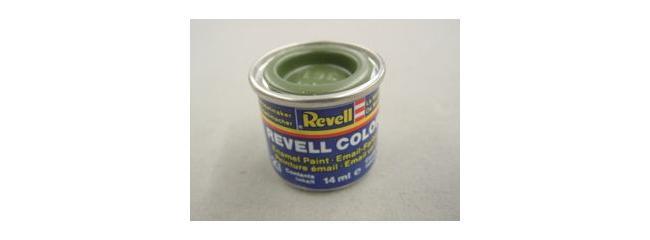 Revell 32361 Streichfarbe olivgrün seidenmatt # 361 Farbdose 14 ml