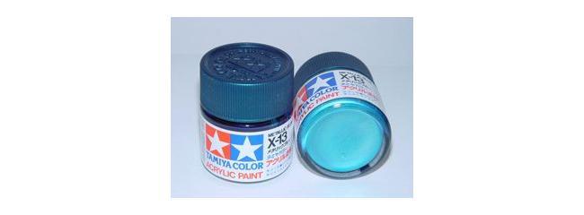 TAMIYA X-13 blau metallic Streichfarbe #81013