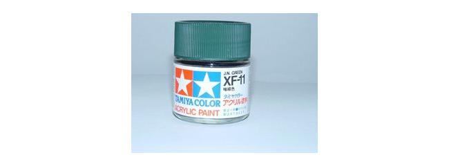 TAMIYA XF-11 jap. navy grün Streichfarbe #81311