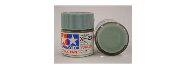 TAMIYA XF-23 hell blau Streichfarbe #81323