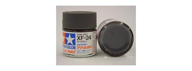 TAMIYA XF-24 dunkel grau Streichfarbe #81324