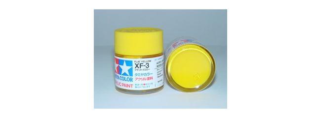 TAMIYA XF-3 gelb matt Streichfarbe #81303