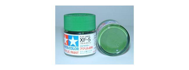 TAMIYA XF-5 grün matt Steichfarbe #81305