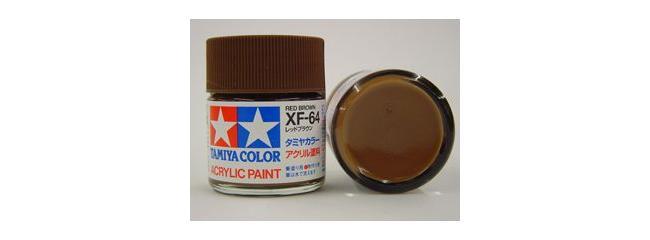 TAMIYA XF-64 rot braun Streichfarbe   #81364   23 ml