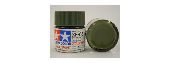 TAMIYA XF-65 Streichfarbe matt feld-grau #81365