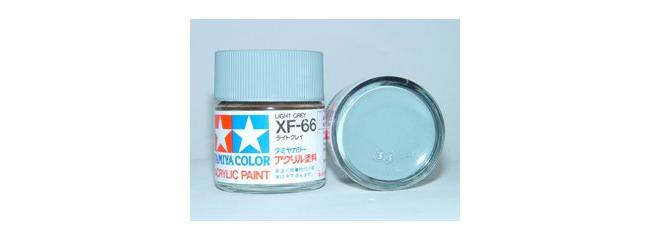 TAMIYA XF-66 Streichfarbe hell-grau | #81366 | 23 ml