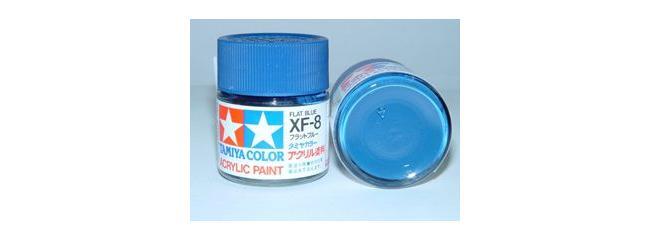 TAMIYA XF-8 blau matt Steichfarbe #81308