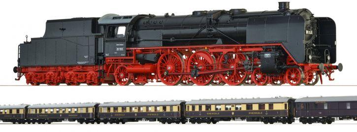 BRAWA B1802 Rheingold Express Zugpackung + Bonus-Wagen | DC | Spur H0