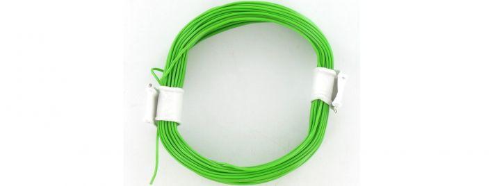 BRAWA 32403 Hochflexible Schaltlitze   0,05 mm²   10 m Ring   Grün