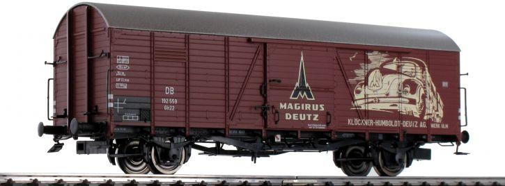 BRAWA 48744 Güterwagen Glr 22 Magirus Deutz DB   DC   Spur H0