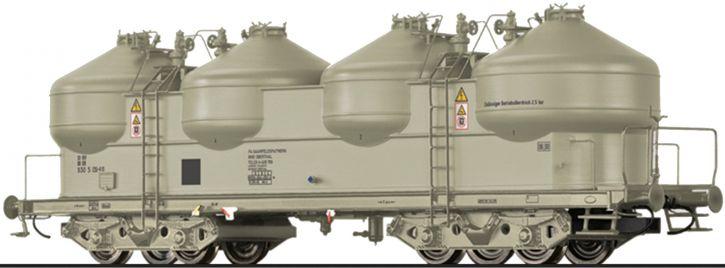 BRAWA 50305 Staubbehälterwagen Uacs 946 DB | DC | Spur H0