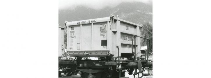 BRAWA 94703 Container Eoskrt 022 DB | Einzeln | Spur H0