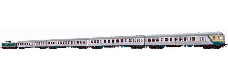 BRAWA B2008 Zugset Diesellok BR 212 + Silberlinge DB | DC analog | Spur H0