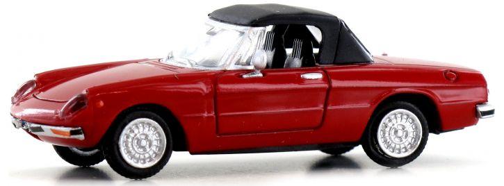 BREKINA 29607 Alfa Romeo Spider rot | Auto-Modell 1:87