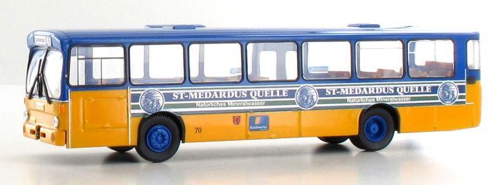 BREKINA 50779 Mercedes O 305 Stadtbus Kaiserslautern St. Medardus-Quelle | Bus-Modell 1:87