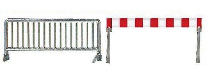 BUSCH 1018 Absperrgitter-Set 20 Stück Bausatz 1:87