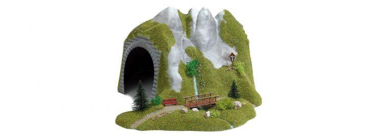 BUSCH 3016 Tunnel mit Bach | Fertigmodell Spur  H0