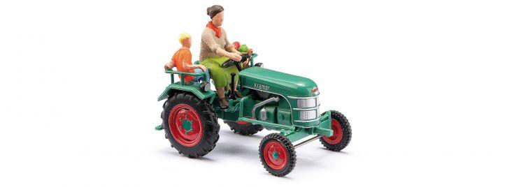 BUSCH 40071 Kramer K11 Bäuerin mit Kind | Traktormodell 1:87
