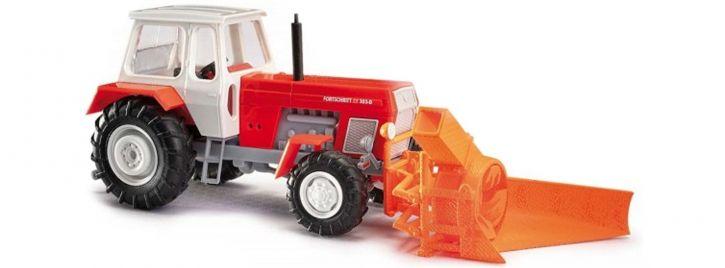 BUSCH 42846 Fortschritt  ZT303 mit Schneefräse | Landwirtschaftsmodell 1:87