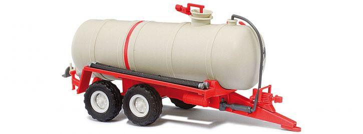BUSCH 42868 Flüssigmist-Tankanhänger HTS 100 rot | Anhängermodell 1:87