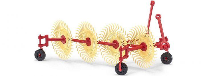 BUSCH 50082 Bautz Spinne BS4 Heuwender | Landwirtschaftsmodell 1:87