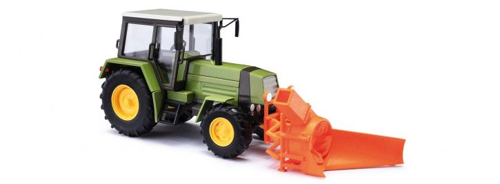 BUSCH 50419 Traktor Fortschritt ZT323 mit Schneefräse ASS02 Landwirtschaftsmodell Spur H0