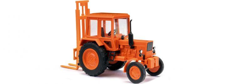 BUSCH 51313 Belarus MTS-80 mit Hecklift | Landwirtschaftsmodell 1:87