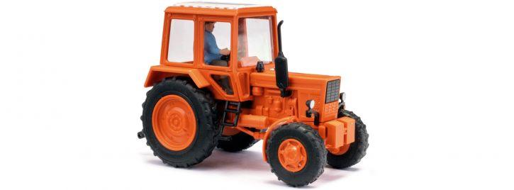 BUSCH 51314 Belarus MTS-82 mit Bauer | Landwirtschaftsmodell 1:87