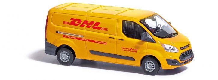 BUSCH 52411 Ford Transit Custom Kasten DHL   Modellauto 1:87
