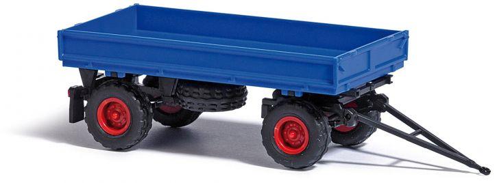BUSCH 53000 IFA HW60 Niederdruckbereifung blau Anhänger 1:87