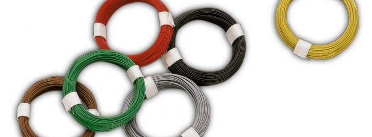 BUSCH 5790 Micro-Kabel | rot | 10 Meter | alle Spurweiten