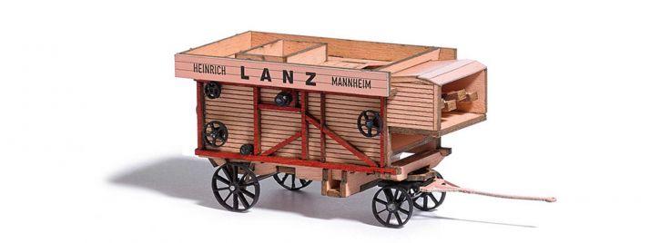 BUSCH 59902 Dreschmaschine Lanz landwirt. Fertigmodell 1:87