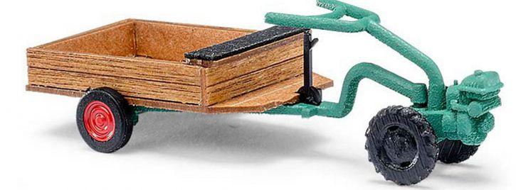 BUSCH 59912 Irus Universal Einachser U300 K Landwirtschaftsmodell 1:87