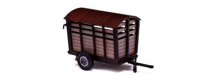BUSCH 59930 Anhänger LPG-Kälberwagen | Agrarmodell 1:87