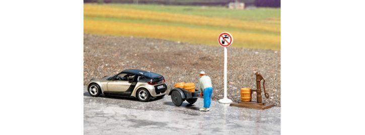 BUSCH 7683 Mini-Welt: Kein Trinkwasser | Miniaturszene Spur H0