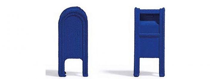 BUSCH 7765 MiniSet US Mailboxen 2 Stück Bausatz 1:87