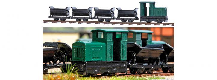 BUSCH 8070 Feldbahn-Set Standmodell | ohne Funktion | Spur N