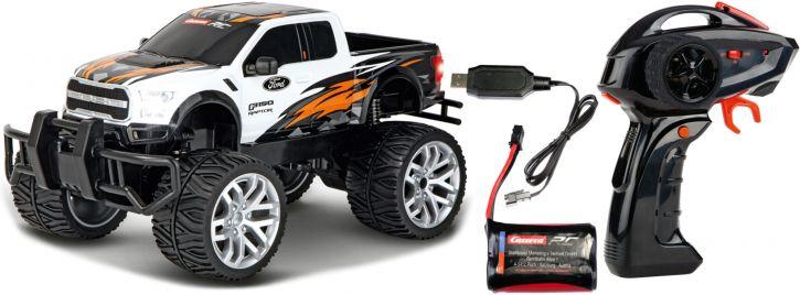 Carrera 142042 Ford F-150 Raptor, weiß RC-Auto   2.4 GHz   RTR   1:14