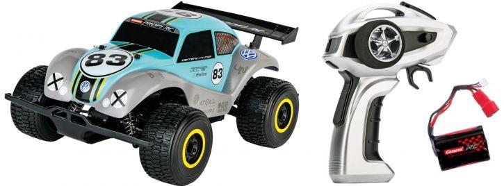 ausverkauft | Carrera 183013 Profi VW Beetle -PX- RC-Auto | RTR | 2.4Ghz | 4WD | 1:18