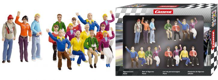 Carrera 20021128 Figurensatz Fans   15 Stück   Evolution / Digital 132   1:32