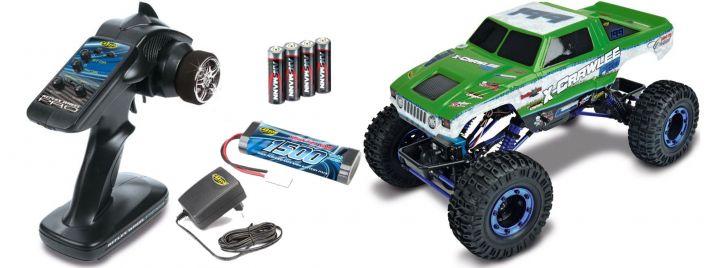 CARSON 500404068 X-Crawlee Pro 4WD 2.4GHz | RC Crawler RTR 1:10