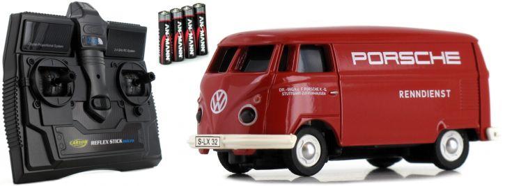 CARSON 500504124 VW T1 Bus Porsche 2.4GHz | RC Auto 1:87 Spur H0