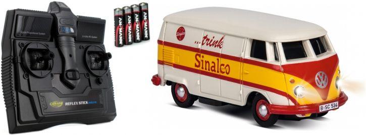 CARSON 500504133 VW T1 Bus Sinalco   2.4GHz   RC Auto 1:87 Spur H0