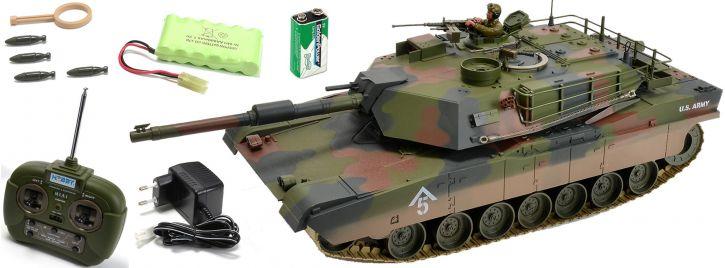 CARSON 500907187 M1A1 Abrams   27MHz   RC Panzer RTR 1:16 kaufen