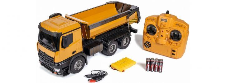 CARSON 500907333 Muldenkipper | 2.4GHz | RTR | RC Baumaschine Komplett-RTR 1:16